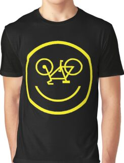 Bicycle Smiley Graphic T-Shirt