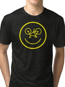 Bicycle Smiley Tri-blend T-Shirt