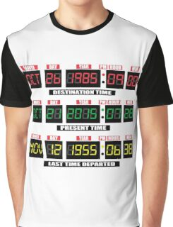 Back To The Tardis Panel Graphic T-Shirt