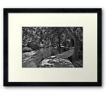 Walkway on the Skradinski Buk Trail Framed Print