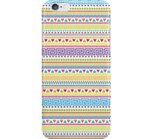 Basic Aztec Geometric Pattern iPhone Case/Skin