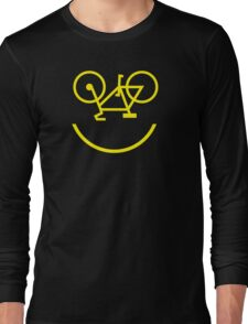 Bicycle Smiley Long Sleeve T-Shirt