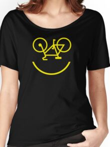 Bicycle Smiley Women's Relaxed Fit T-Shirt