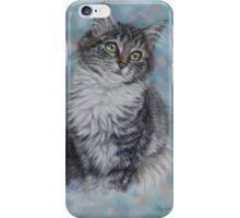 Cute Cat Art - Sweet Kitten Portrait iPhone Case/Skin