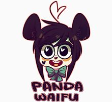 Panda Waifu Womens Fitted T-Shirt
