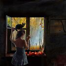 Waiting By The Window Sill by Igor Zenin