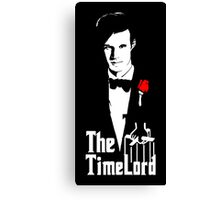 Doctor Who Godfather Canvas Print