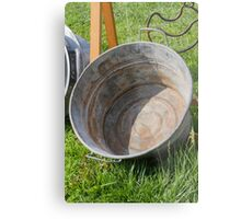 old pots and pans Metal Print