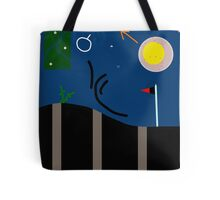 Abstract night landscape Tote Bag
