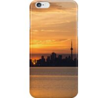 First Sun Rays - Toronto Skyline at Sunrise iPhone Case/Skin
