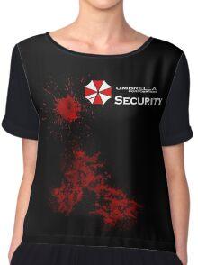 Resident Evil - Umbrella Chiffon Top