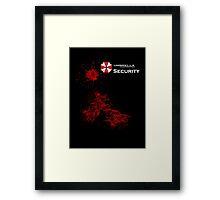 Resident Evil - Umbrella Framed Print