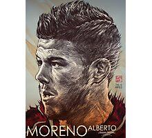 Alberto Moreno - Liverpool FC Photographic Print