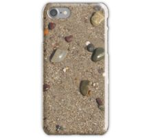 Stones on the Sand iPhone Case/Skin