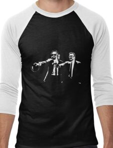 Lebowski Pulp Fiction Men's Baseball ¾ T-Shirt