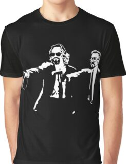 Lebowski Pulp Fiction Graphic T-Shirt