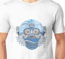 Monkey Blue Style  Unisex T-Shirt