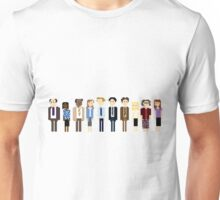 Office Pixel Cast - 10 - Horizontal  Unisex T-Shirt