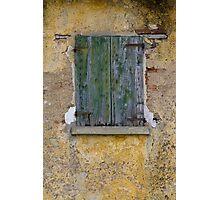 window of thw house Photographic Print