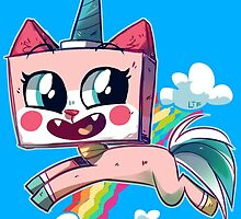 Unikitty by lemonteaflower