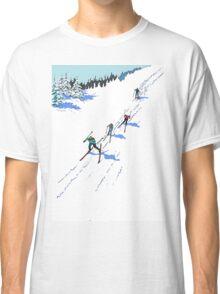 Cross-country Skiing Classic T-Shirt