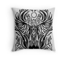 Zevran romance tattoo Throw Pillow