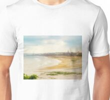Panoramic View of Bridlington Bay East Yorkshire England Unisex T-Shirt