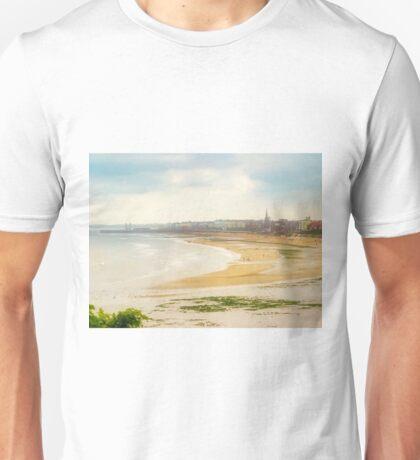 Panoramic View of Bridlington Bay East Yorkshire England Unisex T-Shirt