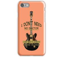 The Blues Will Never Die! iPhone Case/Skin