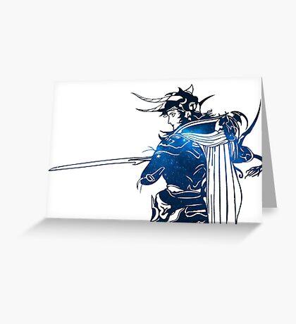 °FINAL FANTASY° Final Fantasy I Space Logo Greeting Card