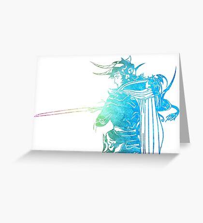 °FINAL FANTASY° Final Fantasy I Rainbow Logo Greeting Card