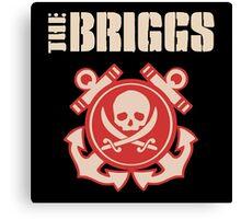 The Briggs Irish Punk Fan Gifts & Merchandise Canvas Print