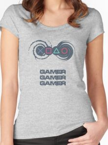 The GAMER Women's Fitted Scoop T-Shirt