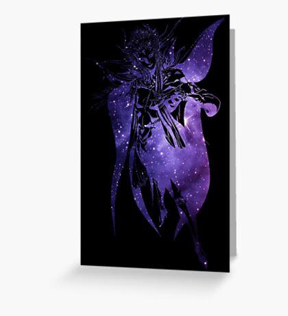 °FINAL FANTASY° Final Fantasy II Space Logo Greeting Card
