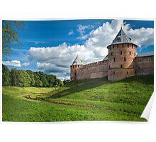 Novgorod Kremlin Wall Poster