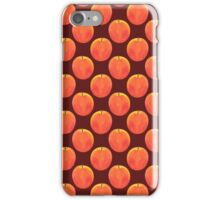 Red Apple ~ Watercolor painting & pattern iPhone Case/Skin