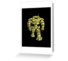 Manbot - Distressed Variant Greeting Card