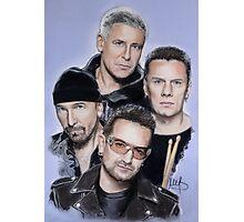 U2 Photographic Print