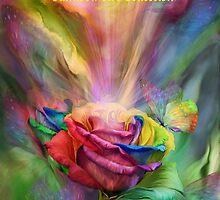 Rainbow Art Collection CAL CVR by Carol  Cavalaris