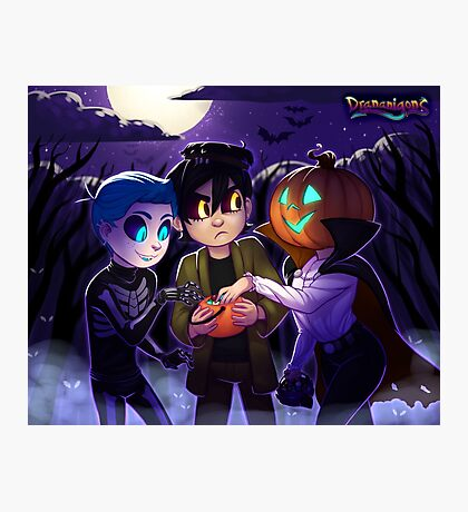 Drananigons Halloween 2016 Photographic Print