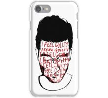 Back's Up Against the Wall iPhone Case/Skin