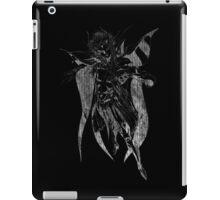 °FINAL FANTASY° Final Fantasy II B&W Logo iPad Case/Skin