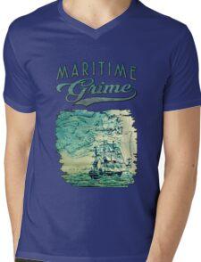The Sea Bound Coast Mens V-Neck T-Shirt