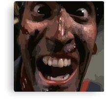 Ash Evil Dead  Canvas Print