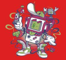 Game Boy - Old School Kids Tee
