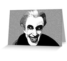 Gwynplaine...The Man Who Laughs Greeting Card