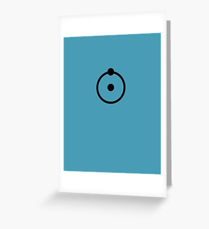 Dr Manhattan H1 Greeting Card