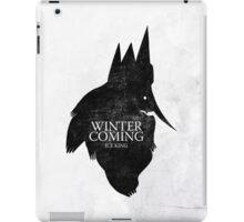 King is Coming iPad Case/Skin