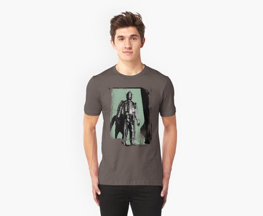 Cyberman (distressed) by Iain Maynard