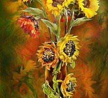 Sunflower Art Collection CAL CVR by Carol  Cavalaris